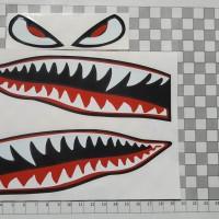 Cutting Sticker DECAL HELM SHARK HIU