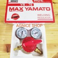 Original Regulator Las Acetylene MaxYamato Tabung Gas Acetilen Welding