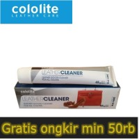 cololite leather cleaner || penghilang noda
