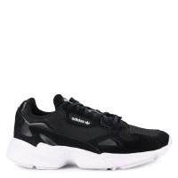 Sepatu Wanita ADIDAS Original Falcon Black White
