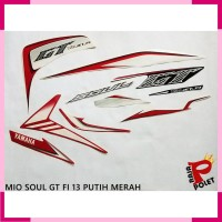 List body polet striping sticker motor MIO SOUL GT 2013
