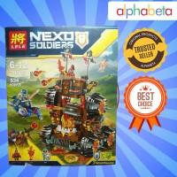 MAINAN ANAK LEGO LELE NEXO SOLDIER HIGH TRACTOR 79307
