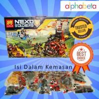 MAINAN ANAK LEGO LELE NEXO JETROS EVIL MOBILE 79240