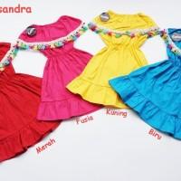 Dress Anak Casandra Katun Poplin