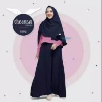 Baju Gamis Wanita Terbaru / Setelan Dress & Hijab Remaja Kekinian