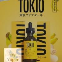 TOKIO 3MG BANANA BY DJUREKZ PREMIUM LIQUID VAPE ORIGINAL CUKAI