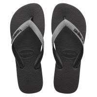 HAVAIANAS TOP MIX FC 7938-BLACK/STEEL GREY