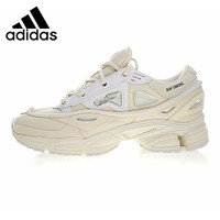 Adidas X Raf Simons Ozweego 2 Women's Running Shoes, White, Shock