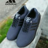 sepatu sneakers kets running lari adidas big size besar 45 46 47 48 49