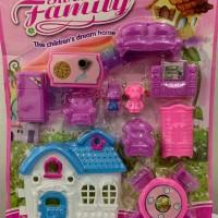 Mainan anak rumah - rumahan / villa / furniture murah