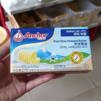 Anchor Salted Butter Pagts 227 gr New Zealand Butter