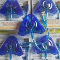 konverter converter konektor stik stick controller PS 2 3 PS2 PS3 USB