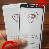 TEMPERED GLASS 5D FULL COVER NR LG Q6