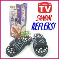 Sandal Selop Refleksi Akupuntur Terapi PIJAT Kaki Untuk kesehatan