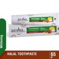 Sasha Pasta Gigi Siwak Lemon & Garam 65gr Langsung Pabrik