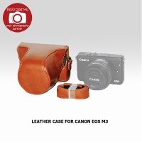 LEATHER CASE FOR CANON EOS M3