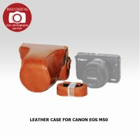 LEATHER CASE FOR CANON EOS M50