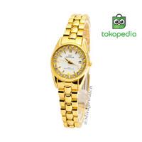 Jam Tangan Wanita Mirage Terlaris 1580L Gold pP