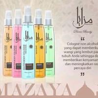 Mazaya Body Cologne Besar 150ml ( Parfum Halal dan Bebas Alkohol )