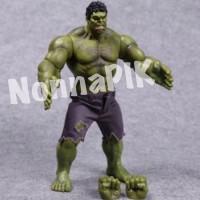 HULK Figure Size BESAR Full Artikulasi Marvel Avengers Hot toys