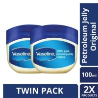 Vaseline Petroleum Jelly Repairing Jelly 100Ml Twin Pack