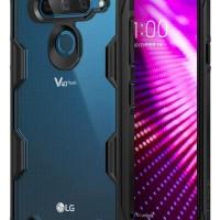 Ringke Fusion X Casing For LG V40 Thinq Black