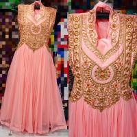 Baju india import/ gamis india/ maxi dress/ baju pesta / busana muslim