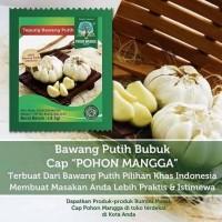Bawang Putih Bubuk Garlic Powder Sachet Praktis Cap Pohon Mangga