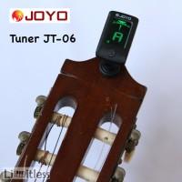 Joyo Tuner Gitar JT-06 JT06 JT 06 Clip On Chromatic