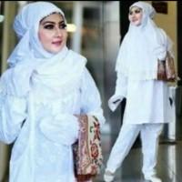 Perlengkapan Haji dan Umroh Setelan Wanita 1 Set