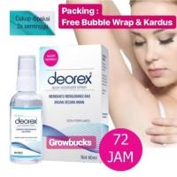 MURAH - STOK BARU | DEOREX BODY ODORIZER SPRAY Deodorant Bau Badan