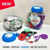 KABEL TOPLES JASPAN 1M V8 (ISI 30 PCS)
