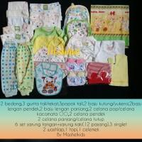 PAKET HEMAT BAJU BAYI BARU LAHIR|PAKET BABY NEWBORN TOTAL 39PCS