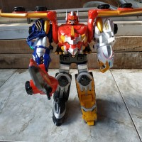 DX Gosei Great Megazord Goseiger Power Rangers Megaforce