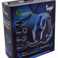 Dragon War Violent 7 1 Surround Gaming Headset Headphone DRW GHS 005