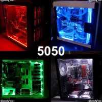 STOCK BANYAK LED STRIP 5050 50 CM MOLEX PC MOD LAMPU HIAS MODIF CASING