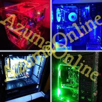 HOT DEAL LED STRIP MOD PC / KOMPUTER - PUTIH