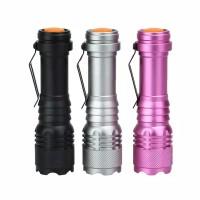CREE Lampu Senter LED Q5 5000LM dengan Baterai AA/14500 Dapat Dizoom