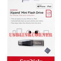 SanDisk IXpand Mini 128GB OTG Flash Drive For IPhone IPad