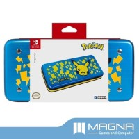 HORI Nintendo Switch AlumiCase Metal Vault Case - Pikachu Blue