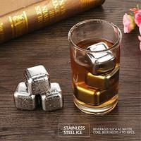 PREMIUM Es Batu Stainless Steel Ice Cube Stainless Steel Reusable 1pc