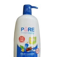 Pure Baby Liquid Cleanser 700ml 700 ml non SLS Purebaby - Pump