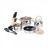 Oxone Rosegold Cookware Set OX-777
