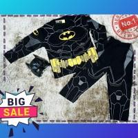 baju setelan anak cowo 2-10thn atasan +celana super hero kostum batman