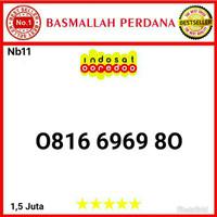 Nomor Cantik IM3 10 Digit Seri Abab 6969 0816 6969 80 bn11
