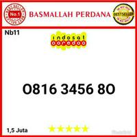 Nomor Cantik IM3 10 Digit Seri Urut 3456 0816 3467 80 bn11