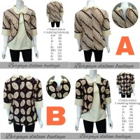 Blouse Batik-Atasan Batik Wanita-Kemeja Batik Wanita - BATIK WANITA