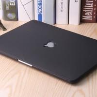 macbook New Air 13 inch A1932 BLACK MATTE Doff cover hard case