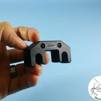 Mute Sisir Solid Metal-Karet - Artino - Violin/Biola