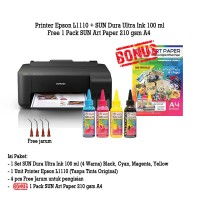 Printer Epson L1110 Tinta SUN Dura Ultra - Art Paper Ink